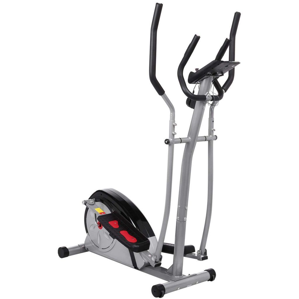 Fast 88 Portable Elliptical Machine Fitness Workout Cardio Training Machine