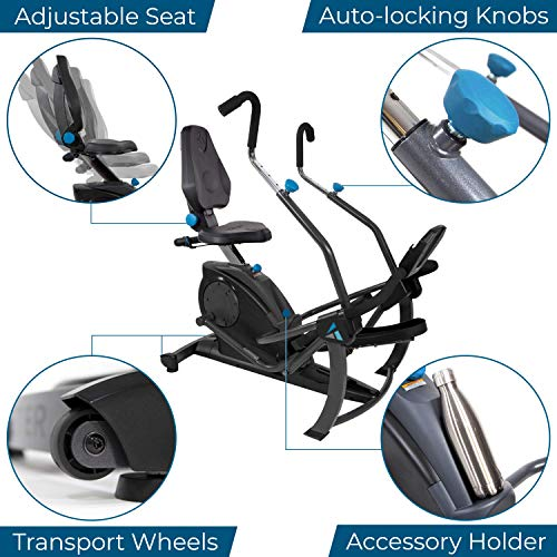 Teeter FreeStep Recumbent Cross Trainer and Elliptical Assembly and Maintenance