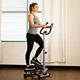 Sunny Health & Fitness Twist Stepper Step Machine